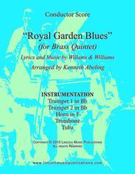 Royal Garden Blues (for Brass Quintet)