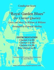 Royal Garden Blues (for Clarinet Quartet)