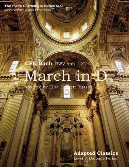 March in D Major, BWV Anh, 122