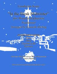In the Bleak Midwinter (for Woodwind Quartet)