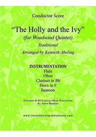 The Holly and the Ivy (for Woodwind Quintet)