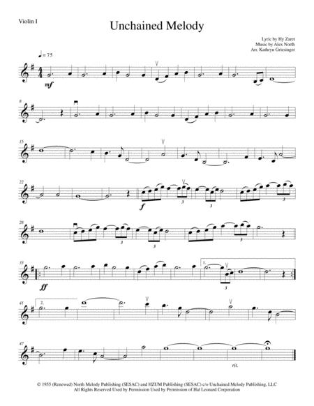 Download Unchained Melody - String Quartet Sheet Music By The ...