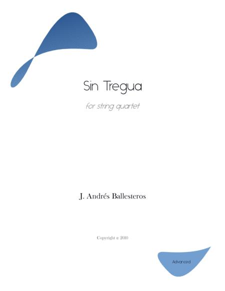 Sin Tregua (score and parts)