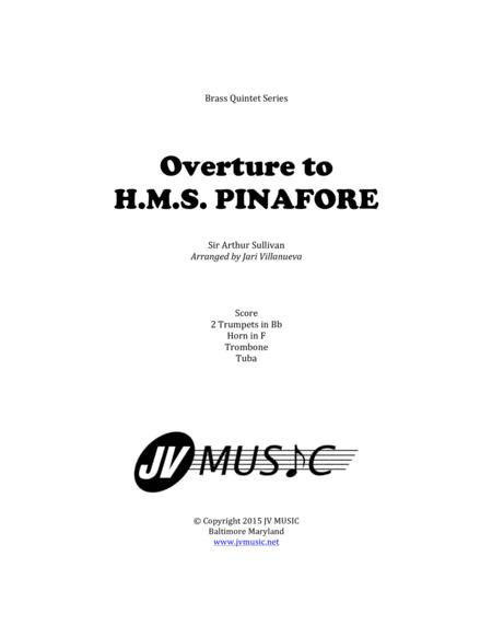 Overture to H.M.S. Pinafore for Brass Quintet