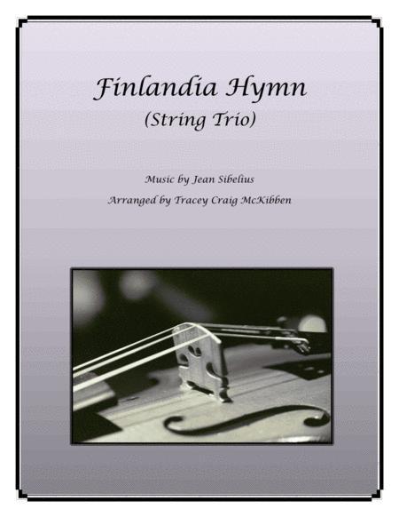 Finlandia Hymn for String Trio