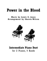 Power in the Blood (2 Pianos, 4 Hands Duet)