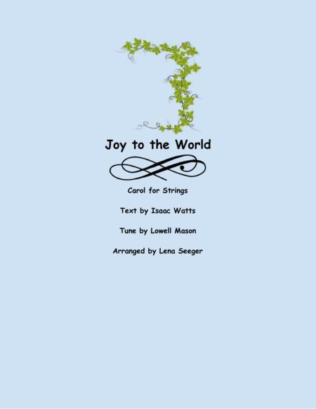 Joy to the World (string trio)