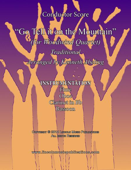 Go Tell it on the Mountain (for Woodwind Quartet)