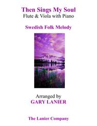 THEN SINGS MY SOUL (Trio – Flute & Viola with Piano and Parts)
