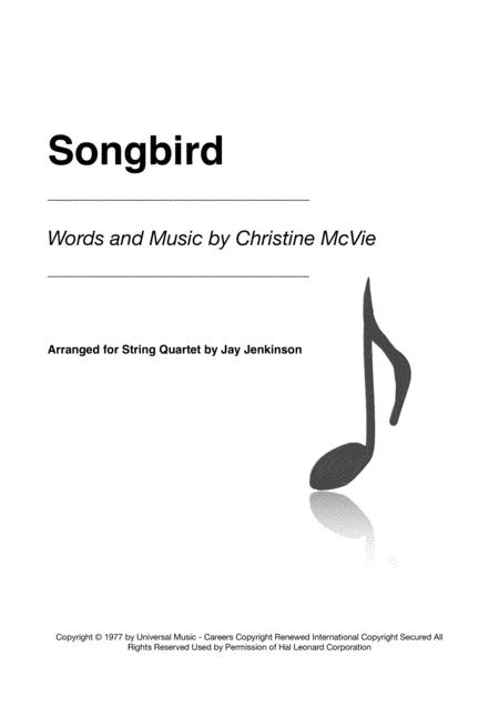 Songbird for String Quartet