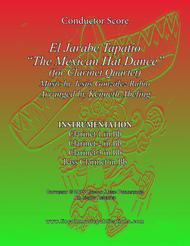 "El Jarabe Tapatío - ""Mexican Hat Dance"" (for Clarinet Quartet)"
