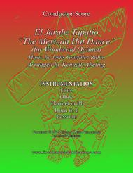 """El Jarabe Tapatío - """"Mexican Hat Dance"""" (for Woodwind Quintet)"""