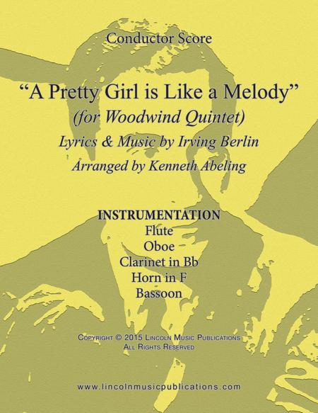 A Pretty Girl is Like a Melody (for Woodwind Quintet)