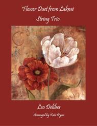 Flower Duet from Lakme (String Trio)