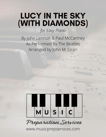 Download Lucy In The Sky With Diamonds (Easy Piano) Sheet Music By