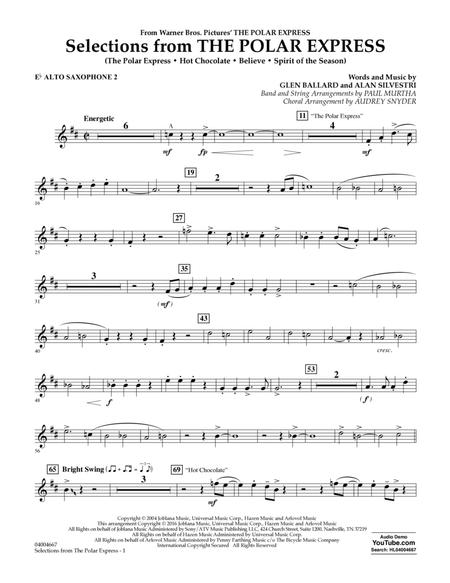 Selections from The Polar Express - Eb Alto Saxophone 2