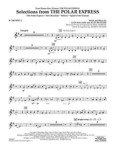 Selections from The Polar Express - Bb Trumpet 2
