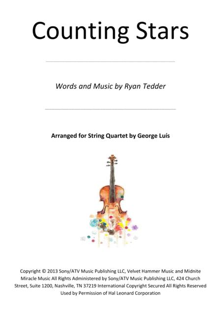 Counting Stars for String Quartet