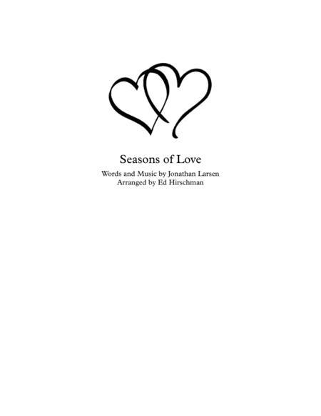 Seasons Of Love for Brass Quintet
