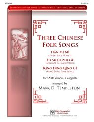 Three Chinese Folk Songs