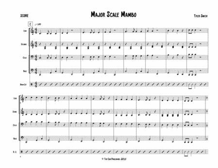 Major Scale Mambo for Steel Band