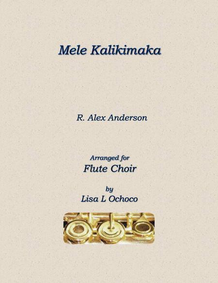 Mele Kalikimaka for Flute Choir