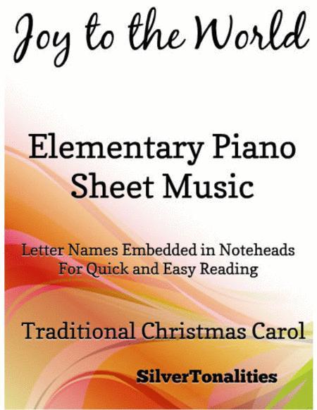 Joy to the World Elementary Piano Sheet Music