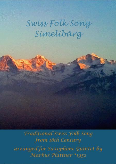 Swiss Folk Song - Simelibärg