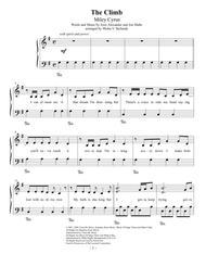 The Climb, easy piano