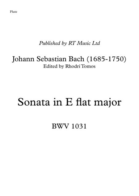 Bach BWV 1031 Sonata in Eb major.
