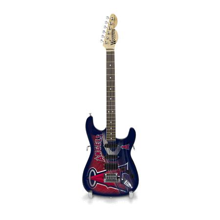Los Angeles Angels 10 Collectible Mini Guitar