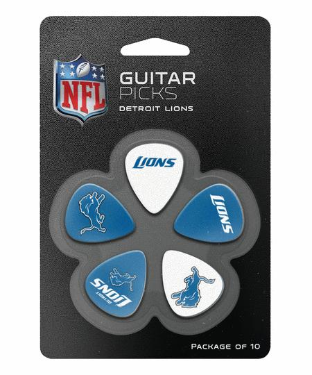 Detroit Lions Guitar Picks