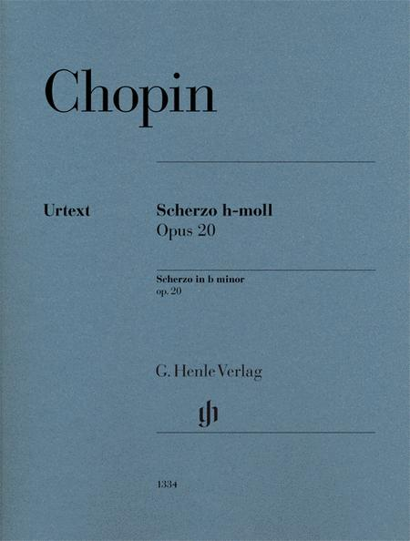 Scherzo in B minor, Op. 20 - Revised Edition