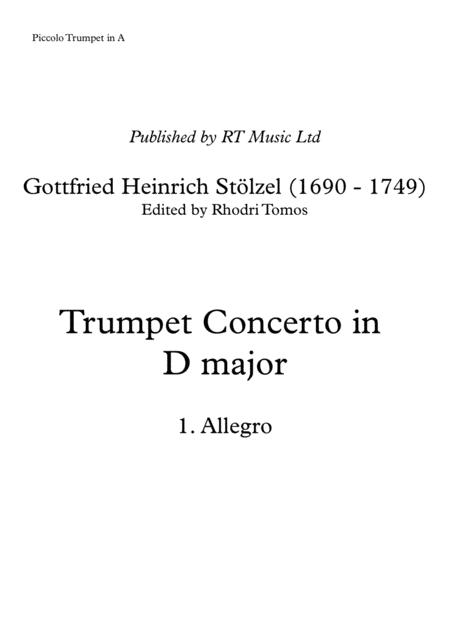 Stolzel Concerto in D major (HauH 5.3)