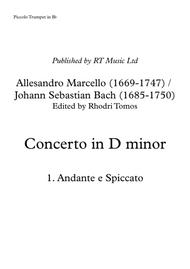 Marcello / Bach BWV974 Concerto no.3 in D minor