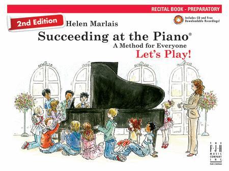 2nd Edition SATP Recital Book Preparatory