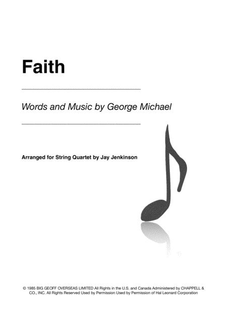 Faith for String Quartet