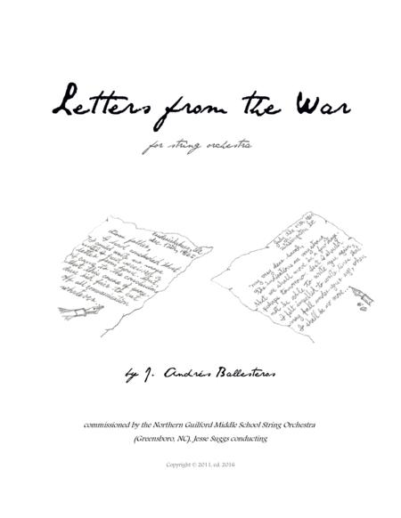 Letters from the War (score and parts)