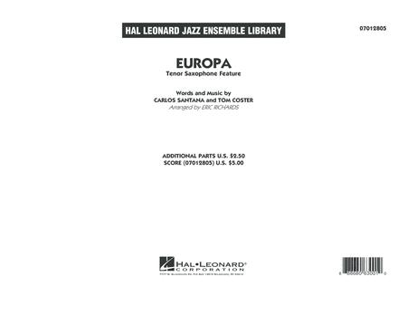 Europa - Conductor Score (Full Score)