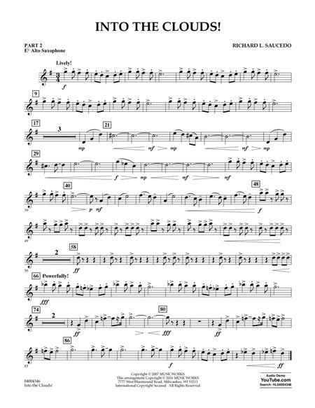 Into the Clouds! - Pt.2 - Eb Alto Saxophone