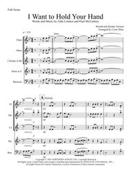 I Want To Hold Your Hand - Woodwind Quintet