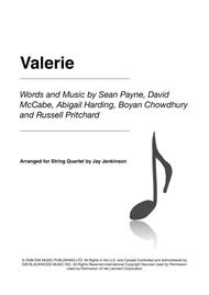 Valerie for String Quartet