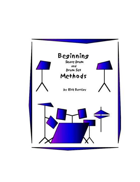 Beginning Snare Drum and Drum Set Methods