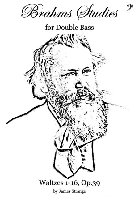 Brahms Studies for Double Bass - 16 Waltzes, Op.39