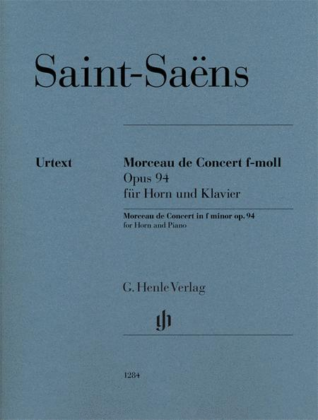 Morceau de Concert in F minor Op. 94