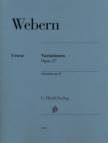 Variationen op. 27