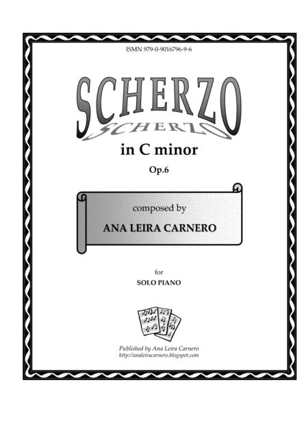 Scherzo in C minor for solo piano