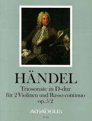 Trio sonata D major op. 5/2