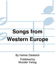 Songs from Western Europe