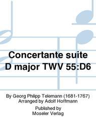 Concertante suite D major TWV 55:D6